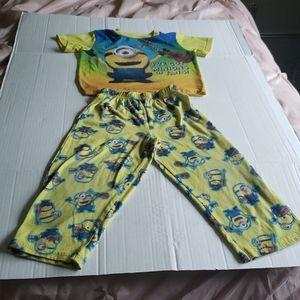 Despicable Me Minions Matching Pajamas Set